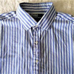 Polo By Ralph Lauren Pin Stripe Button Down Shirt